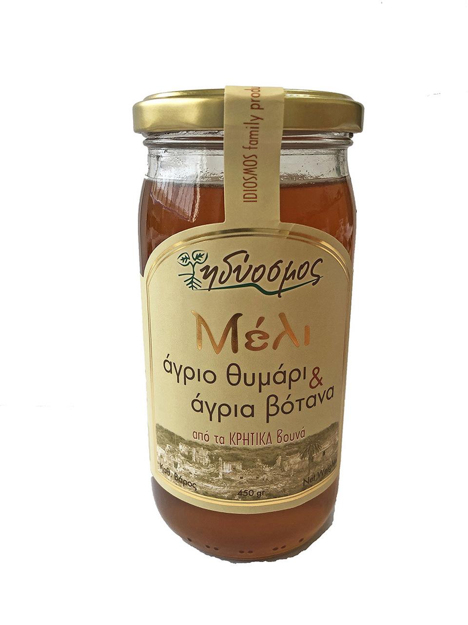 Idiosmos-MIEL-DE-THYM-LE-CAMION-GREC-épicerie-grecque